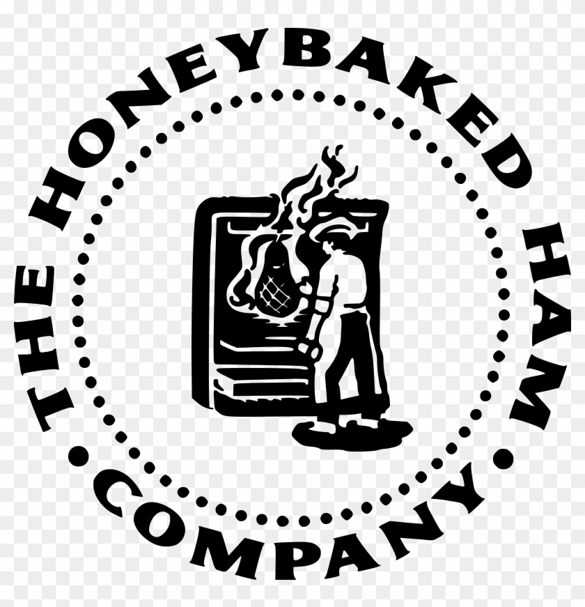 picture regarding Honey Baked Ham Printable Coupons known as Honeybaked Ham Emblem Black And White - Honey Baked Ham