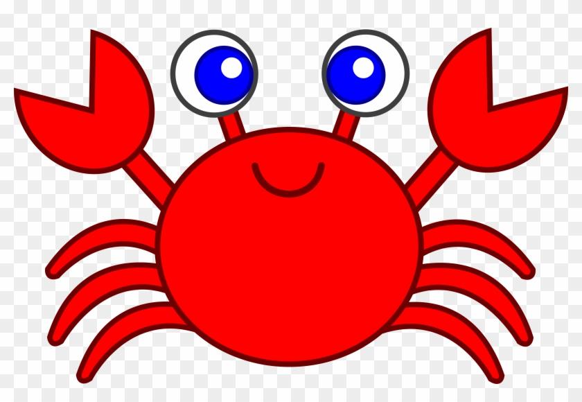 Cute Red Crab Clip Art - Crab Clipart, HD Png Download