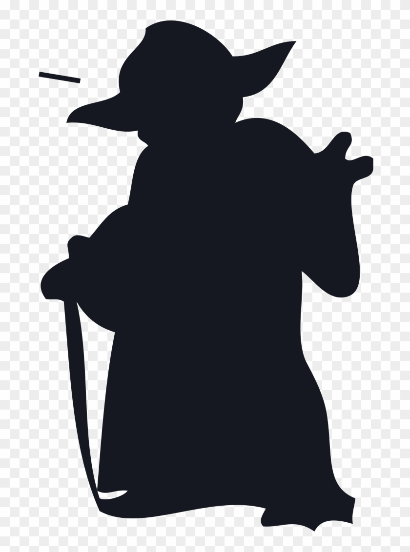 Yoda svg master outline star wars yoda silhouette png transparent png