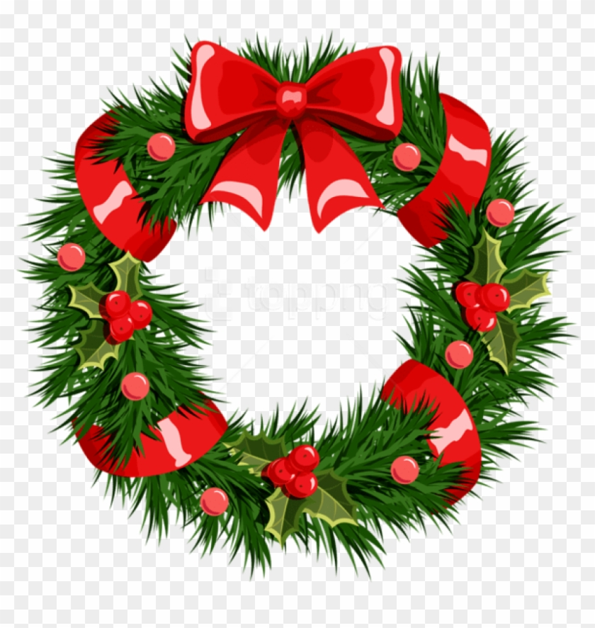 Free Png Transparent Christmas Wreath Png Transparent Background