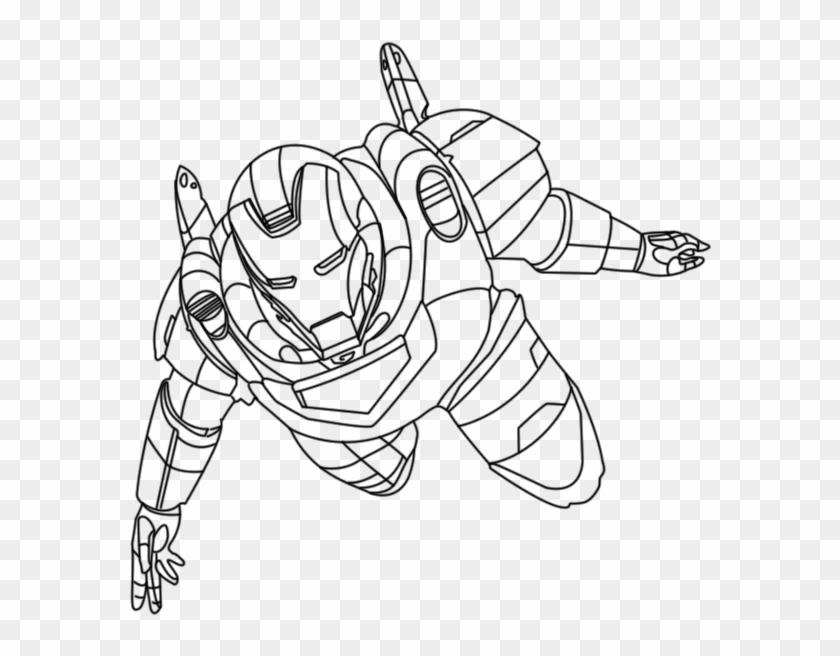 Homem De Ferro Ironman Desenhos Para Ocolorir Pintar Super Heros