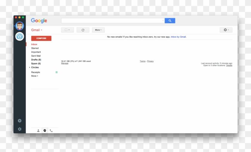 Wmail Supports Desktop Notifications, Unread Badge, - Viber