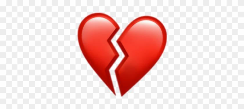 33 338682 heart brokenheart corazn corazonroto iphone iphoneemoj heart broken