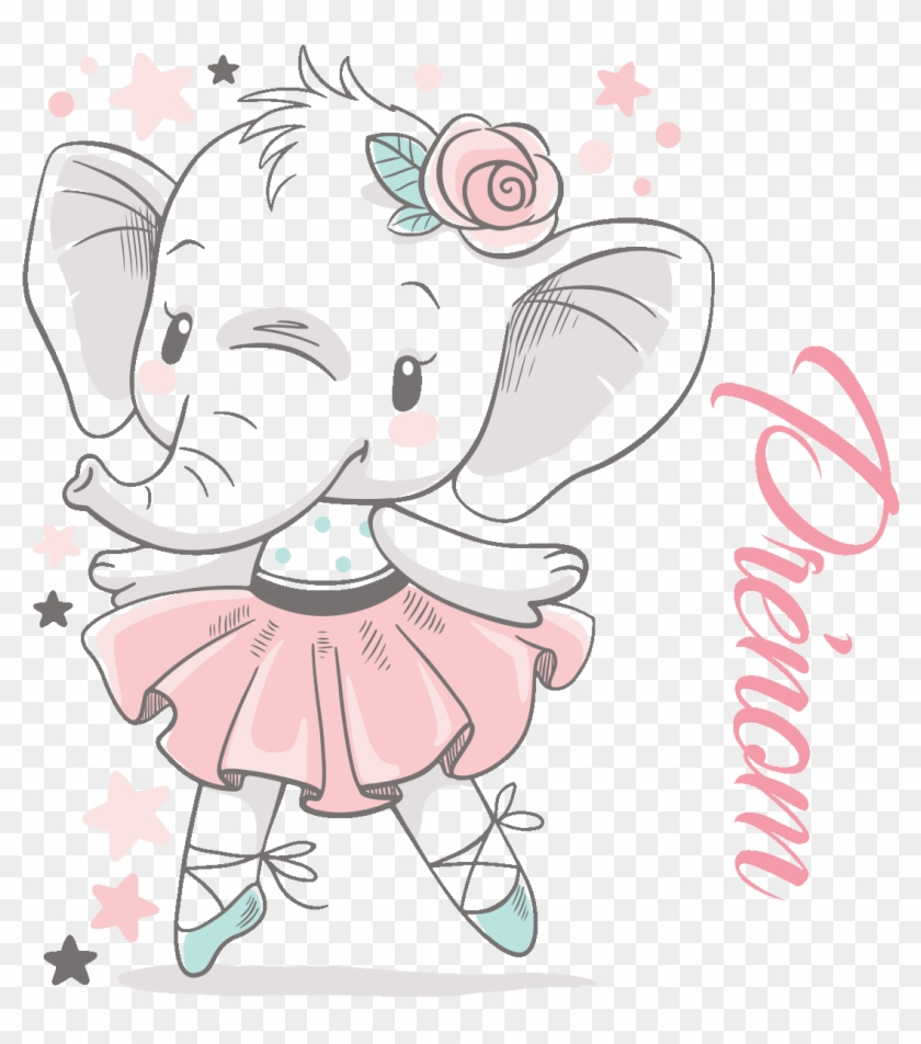 Baby Elephant Png Hd : Baby shower elephant png image with transparent background.