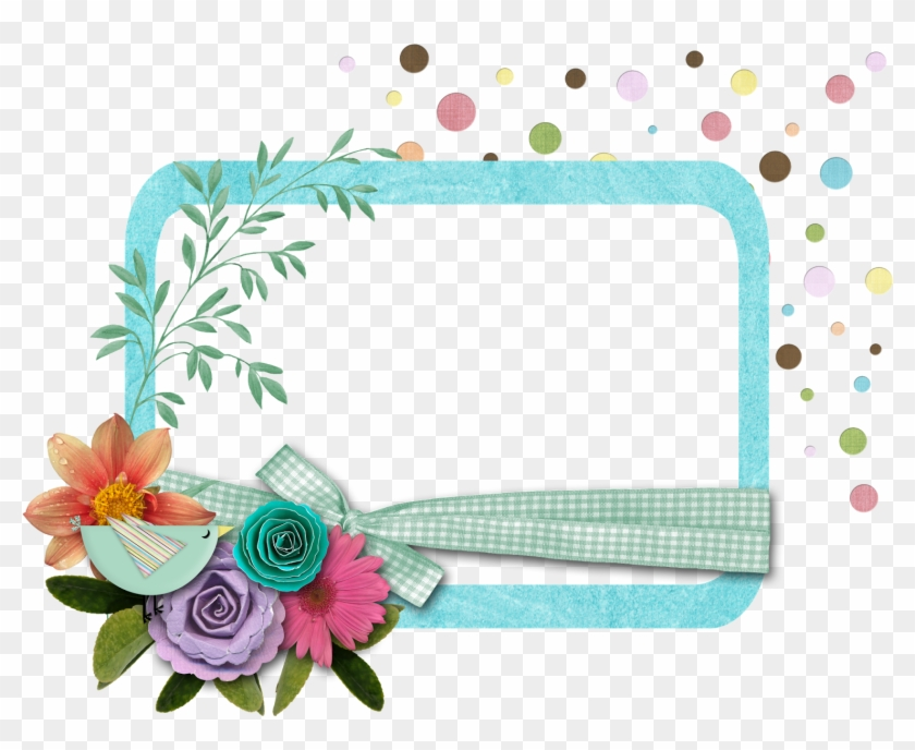 De Kb Bordes De Flores Para Tarjetas Hd Png Download 1600x1285