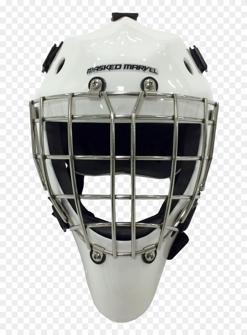 Bandit Junior Masked Marvel Goalie Helmets Its Hockey Goalie