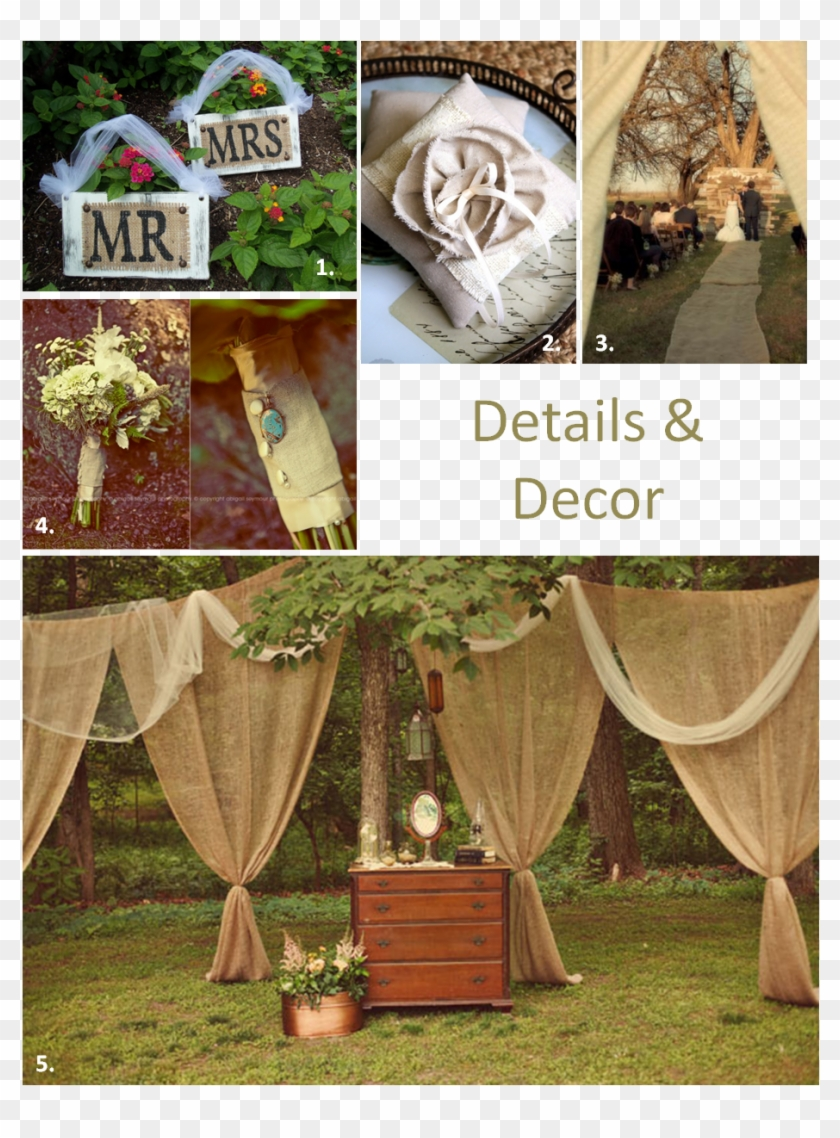 Low Budget Diy Rustic Wedding Decor, HD Png Download - 929x1215(#3320211) -  PngFind