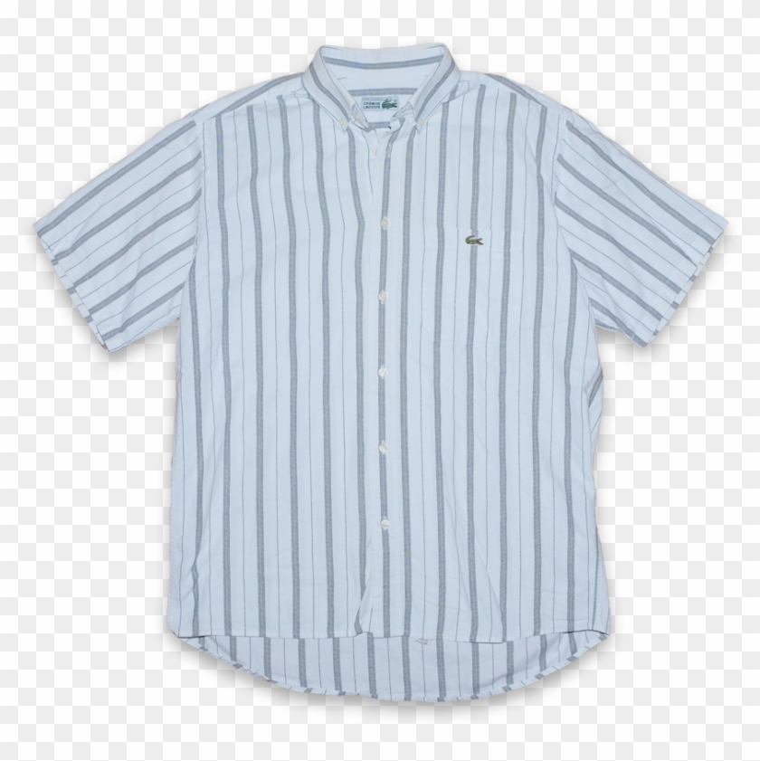 846320165b73c Vintage Chemise Lacoste Vertical Striped Button Down - Baseball ...