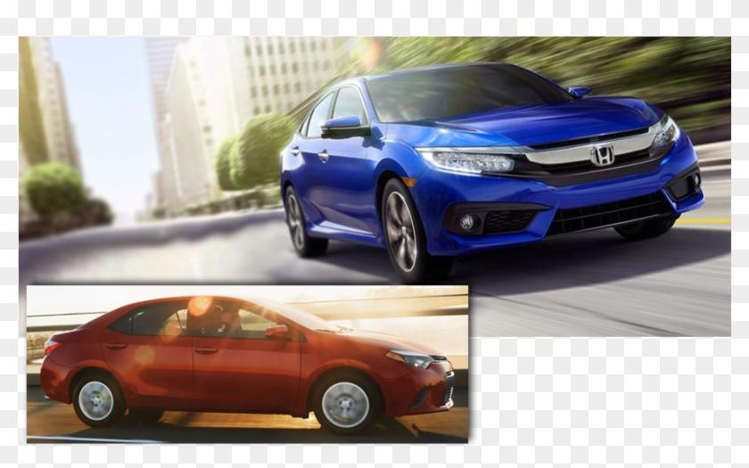 Corolla Vs Civic 2017 >> 2017 Honda Civic Vs 2015 Camry Vs Corolla Hd Png Download