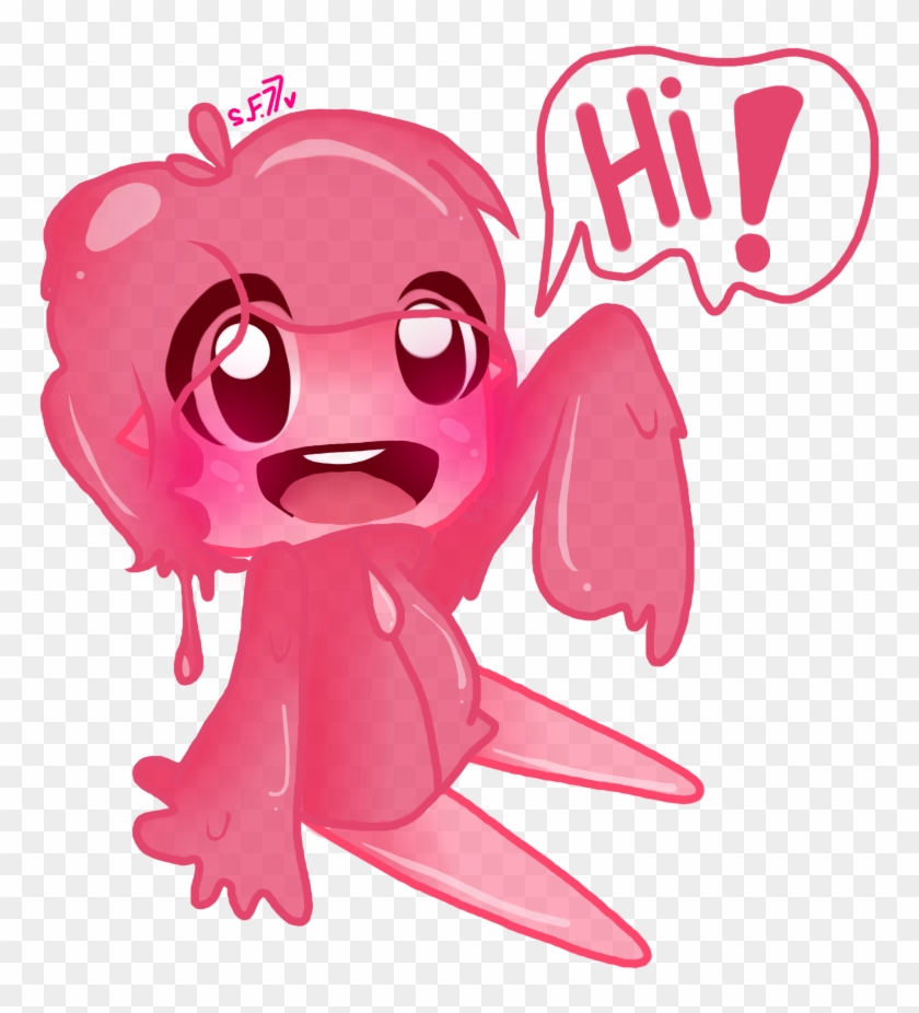 Human Pink Slime From Slime Rancher - Slime Rancher Human