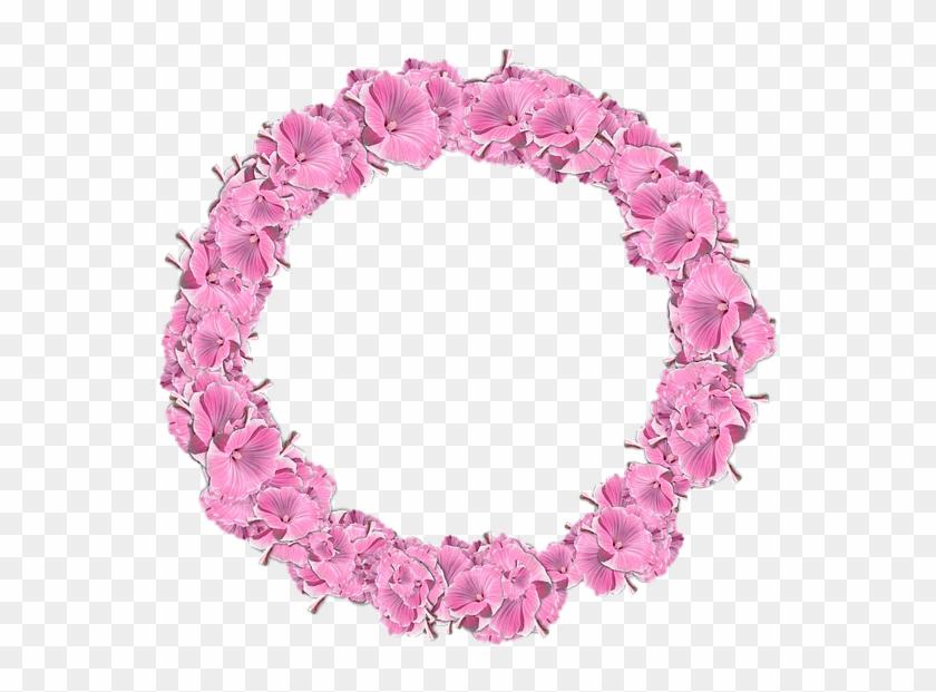 flowers circle decor graphics frame round bingkai bulat bunga png transparent png 720x720 341168 pngfind flowers circle decor graphics frame