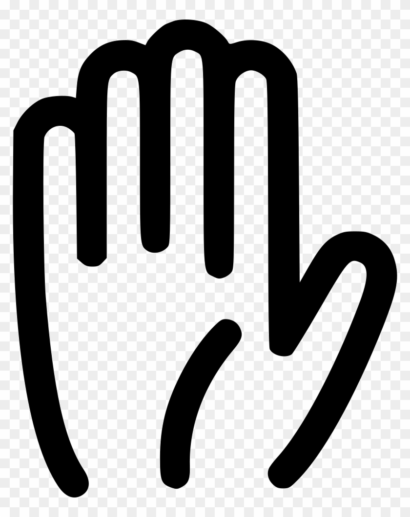 Png File Svg - Hand Stop Icon Png, Transparent Png - 788x980