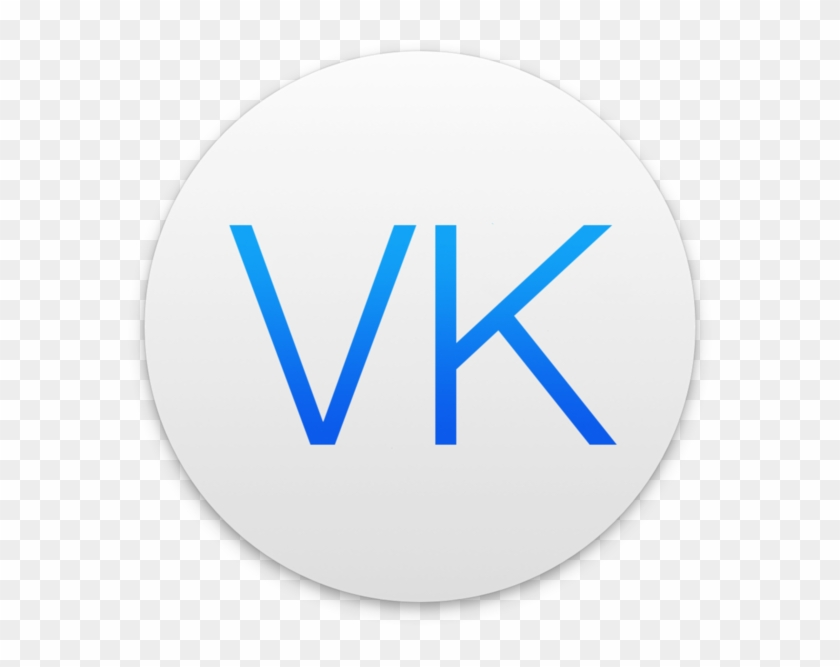 Messenger For Vk On The Mac App Store - Circle, HD Png