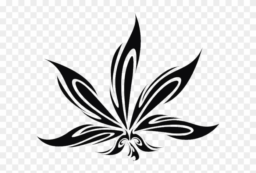 Link Hoja De Marihuana Para Tatuaje Hd Png Download