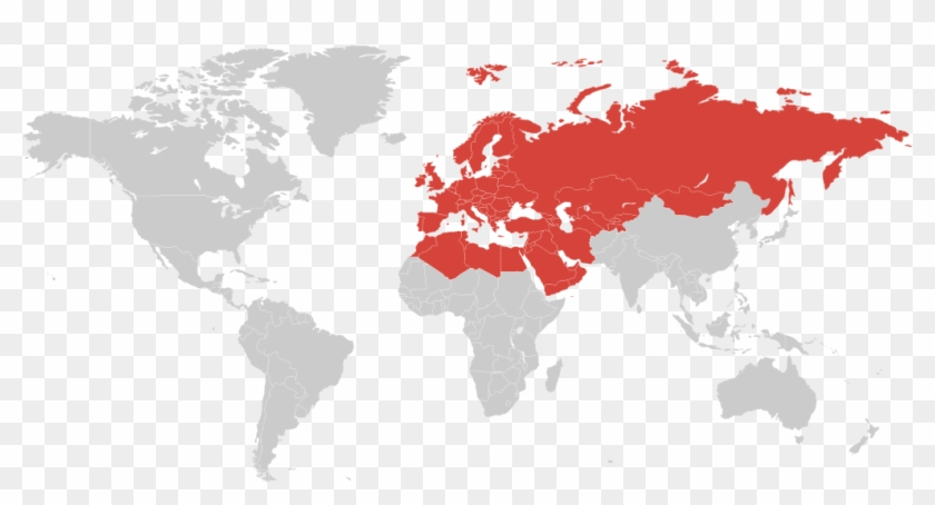 Europe, Middle East, Russia And Cis - Soviet Union On The