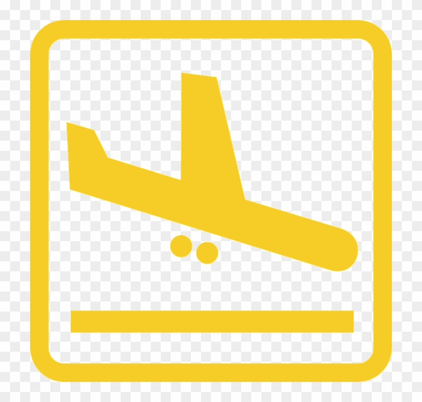 Arrivals Airport Landing Airplanr Runway Symbol Departures Clipart Hd Png Download 720x720 3418790 Pngfind