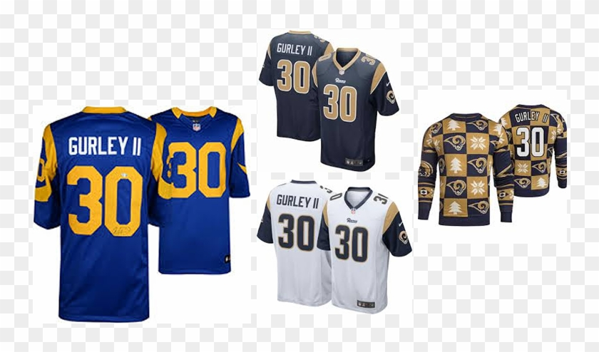 newest 44d1e 24906 Todd Gurley Jersey - Sports Jersey, HD Png Download ...