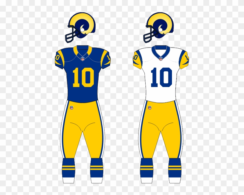 fd730aa9d83 History Of The Los Angeles Rams - La Rams Away Jersey, HD Png Download