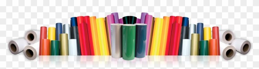 Rolls Of Vinyl Transpa Png