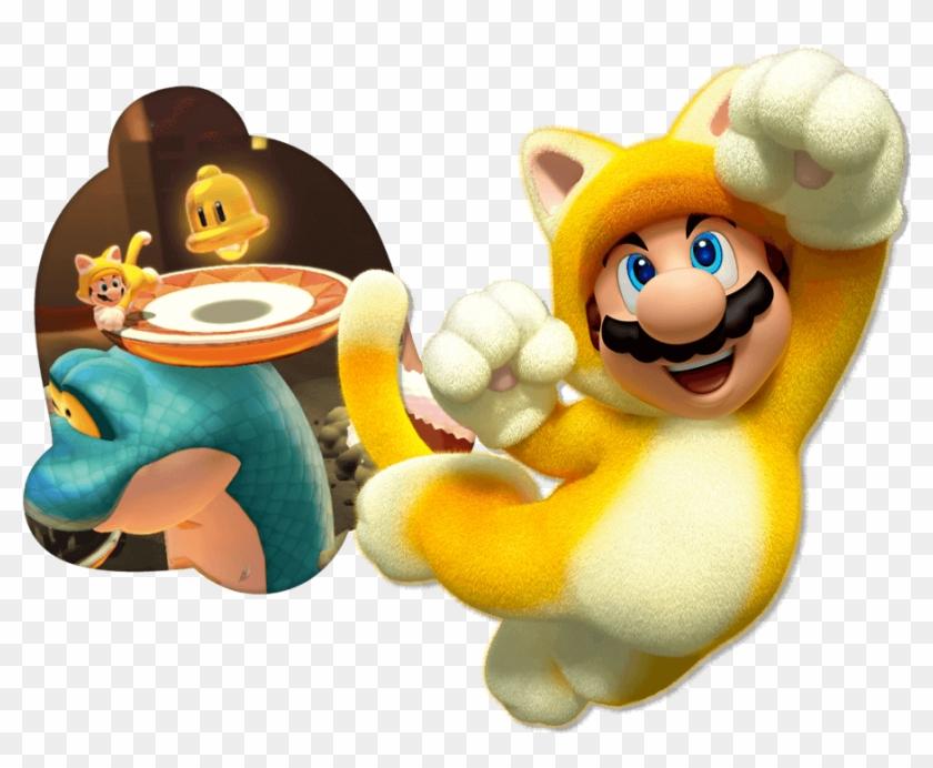 Cat Mario - Super Mario 3d World, HD Png Download - 940x700
