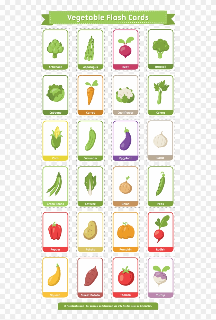 photograph regarding Spanish to English Flashcards With Pictures Printable known as Absolutely free Printable Vegetable Flash Playing cards - English Spanish