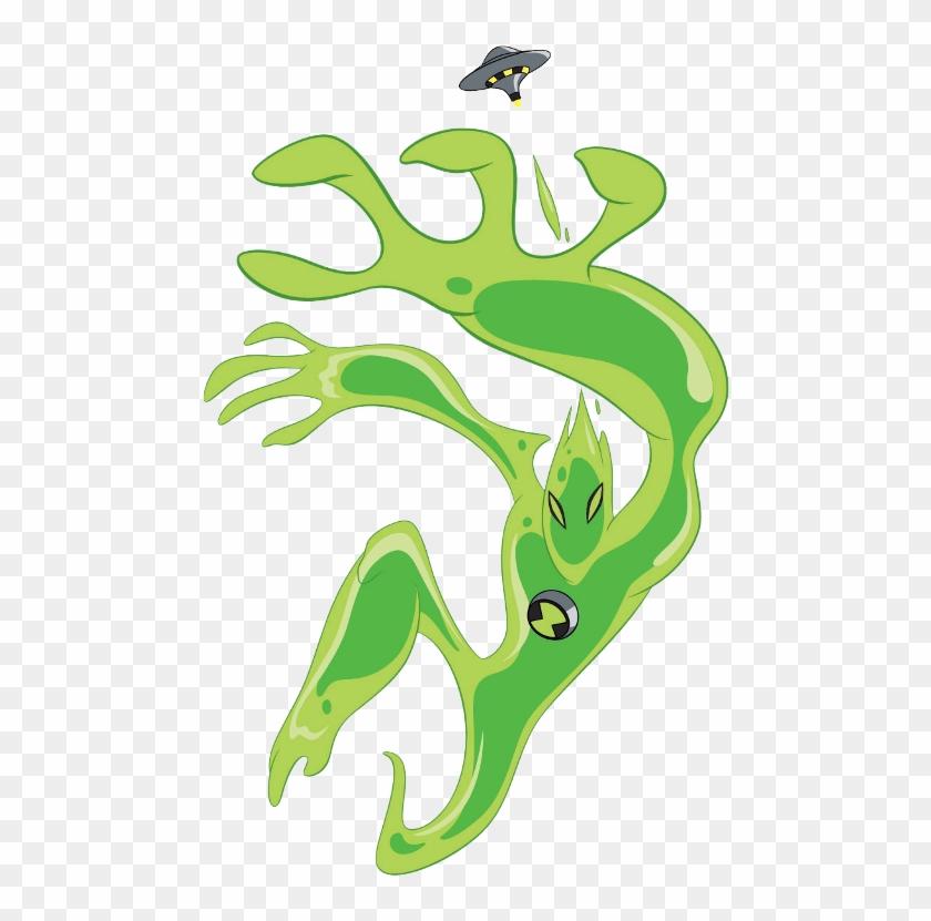 Ben 10 Aliens Goop , Png Download - Ben 10 Aliens Goop, Transparent