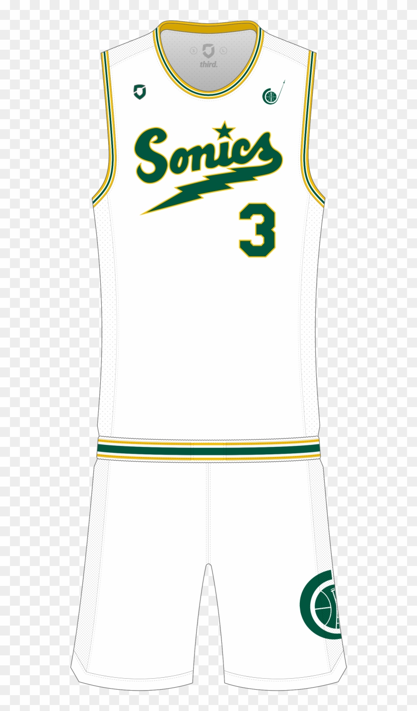 Seattle Supersonics Throwback Boston Celtics Jersey 2019 Hd Png Download 1000x1500 3443115 Pngfind