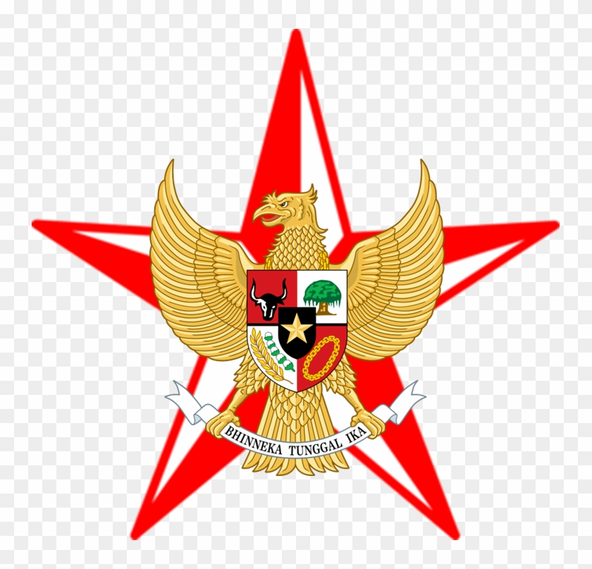 Barnstar Merah Putih Garuda Indonesia Football Logo Hd Hd Png Download 751x727 3443717 Pngfind