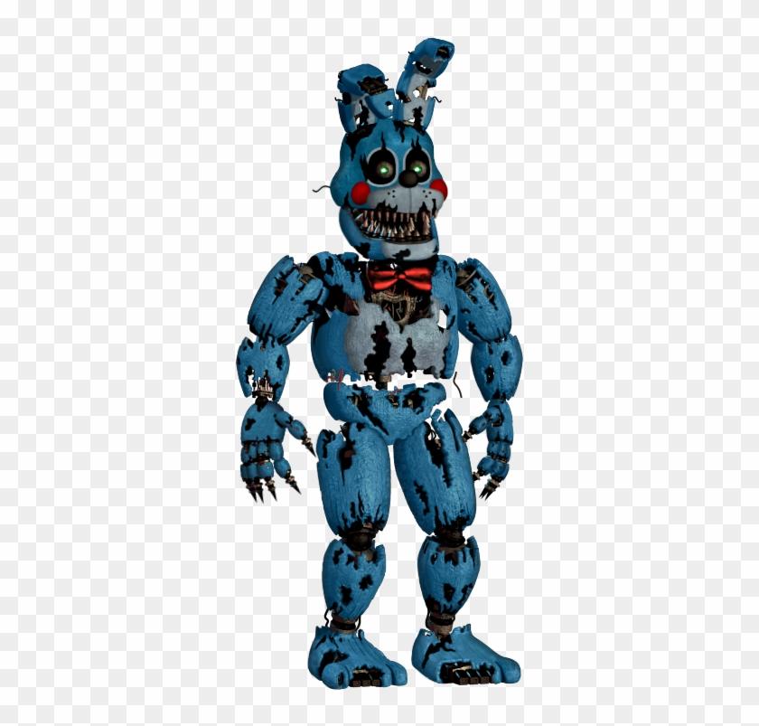 Fnaf4 Nightmare Toy Bonnie Edit Fnaf Nightmare Bonnie Hd