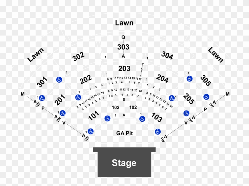 Mattress Firm Amphitheatre Seating Chart North Island Credit Union