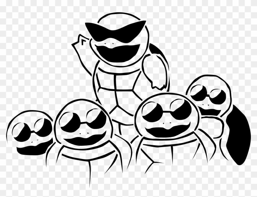 Le Squad Coloring Pages