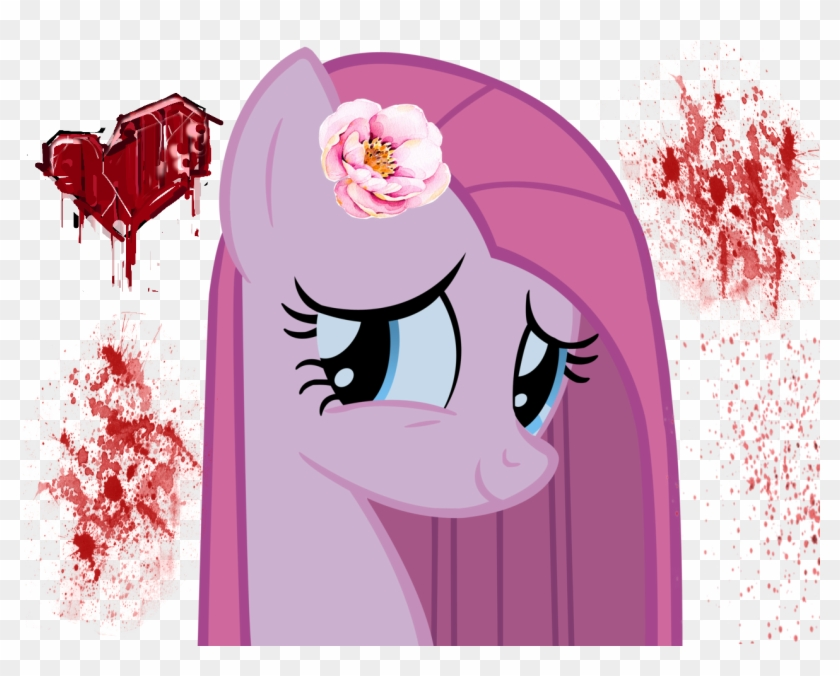 Pinkamena Mlp Freetoedit Blood Deceit - Pinkamena Diane Pie Knife