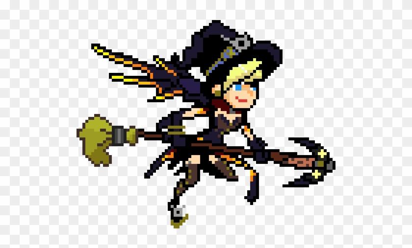 Random Image From User Overwatch Mercy Pixel Skins Hd Png