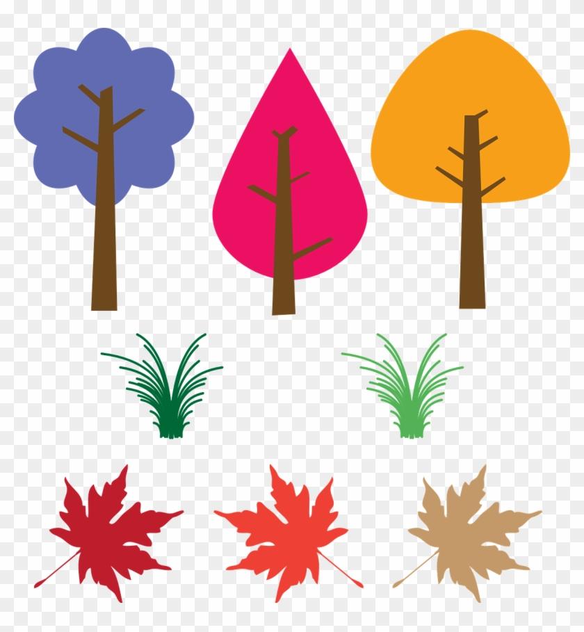 Trees Leaves Fallen Leaves Png Image Arvore De Outono Desenho