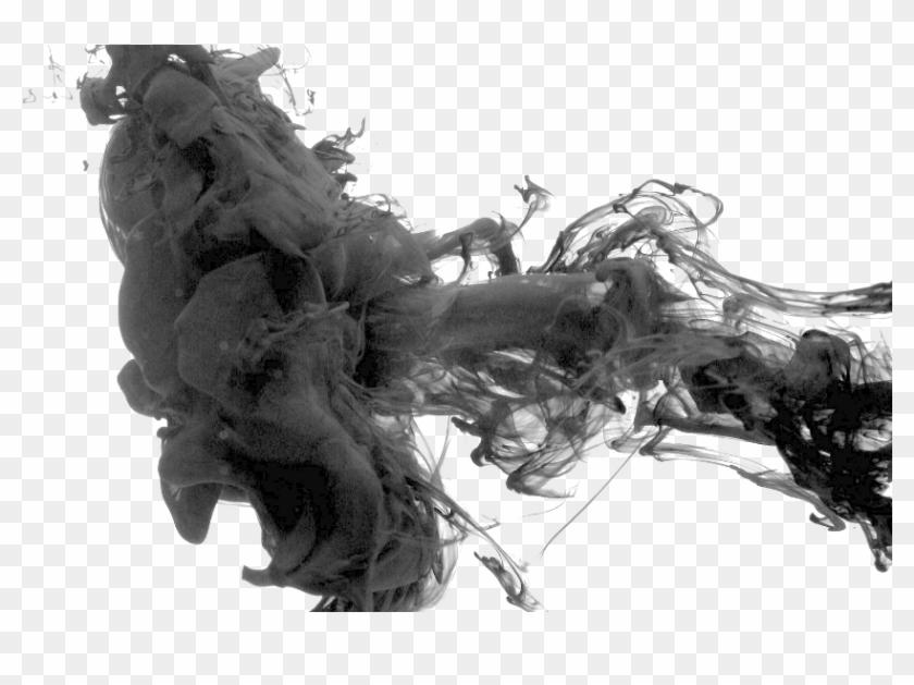 Black Smoke - Black Smoke Photoshop, HD Png Download