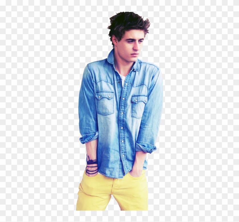 5e37e5a57 Max Irons, Suit And Tie, Blue Denim Shirt, Denim Jeans, - Men Yellow ...