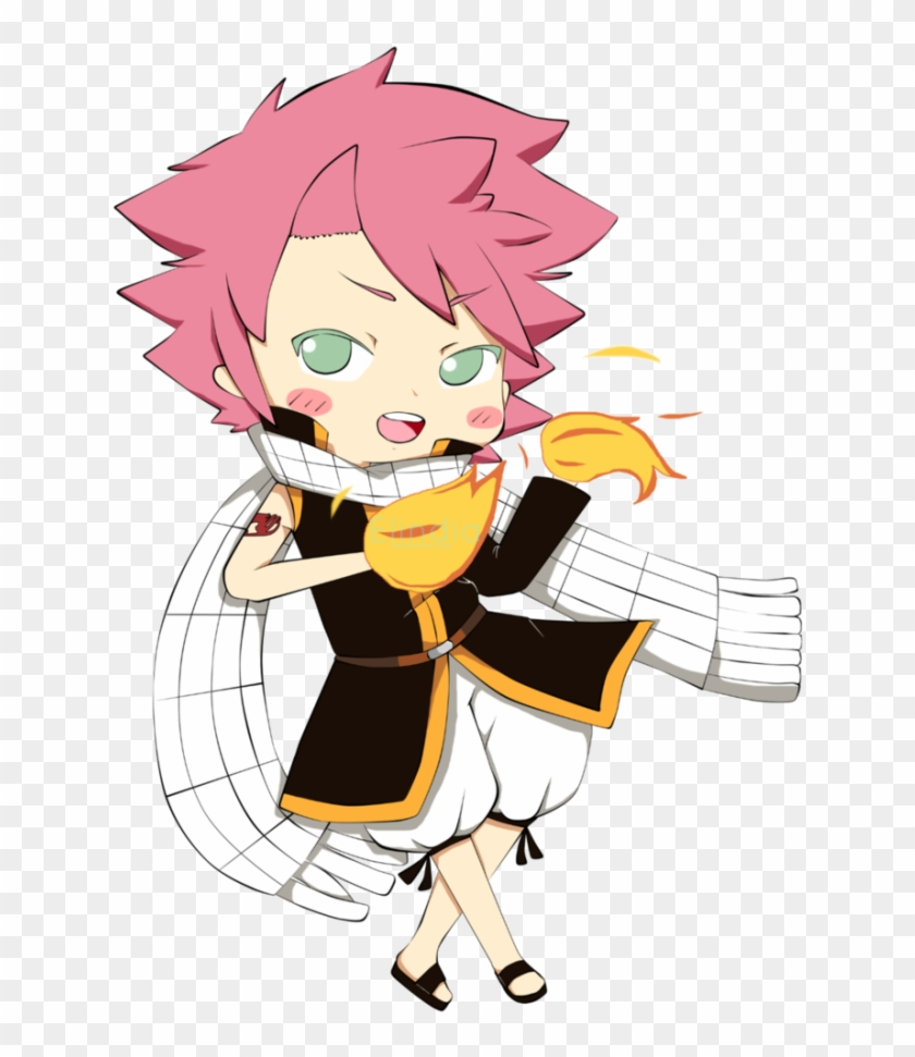 Chibi natsu fairy tail anime boy cartoon hd png download