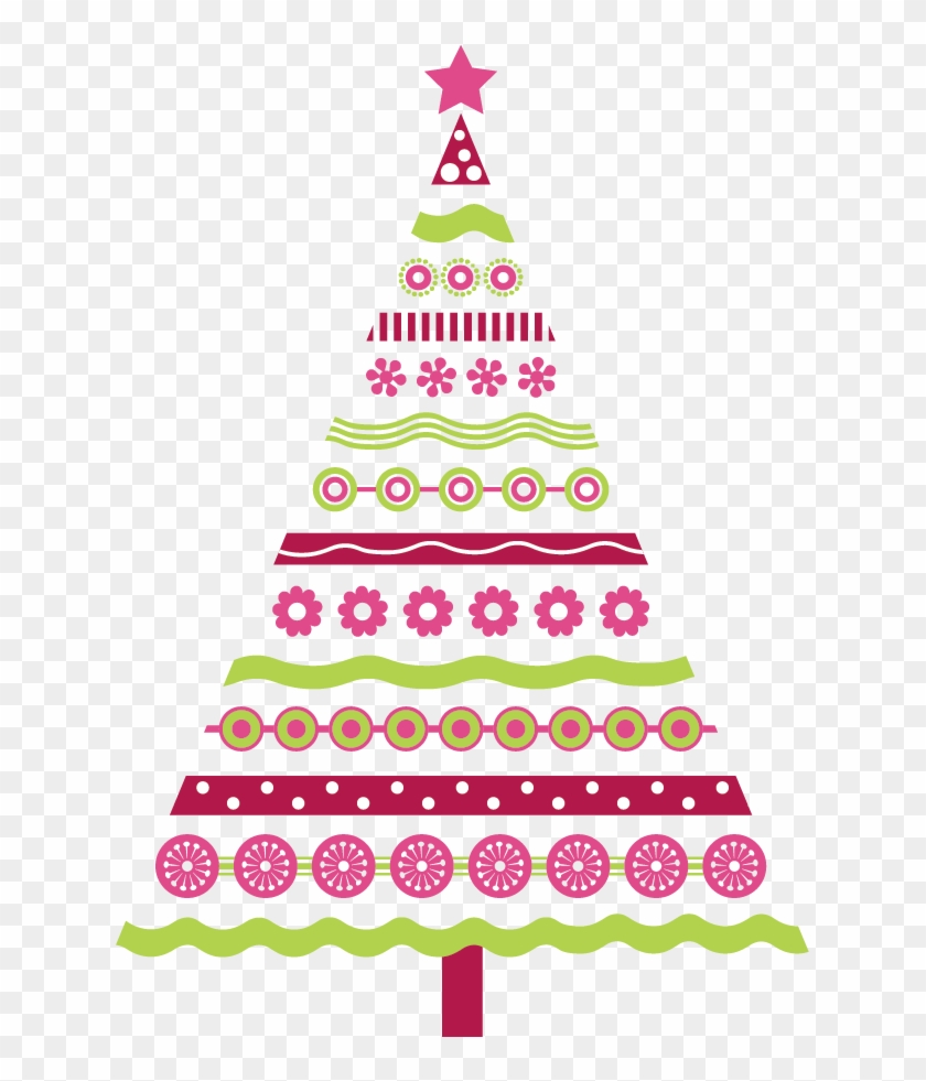 Pink Christmas Tree Clipart 101 Clip Art For Pink Christmas Pink