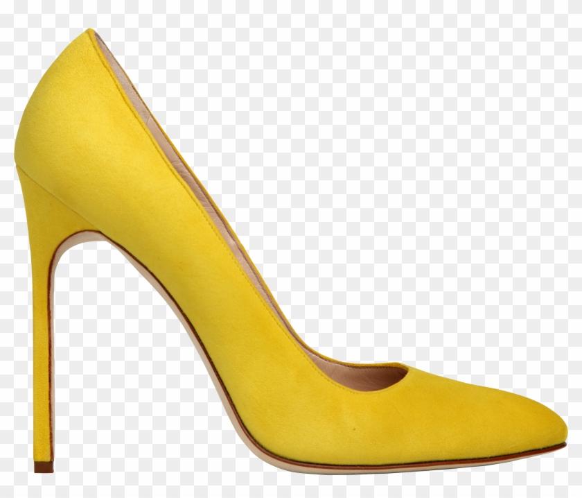 9cc83da3cd1 Yellow Women Shoe - High Heel Transparent Background, HD Png ...