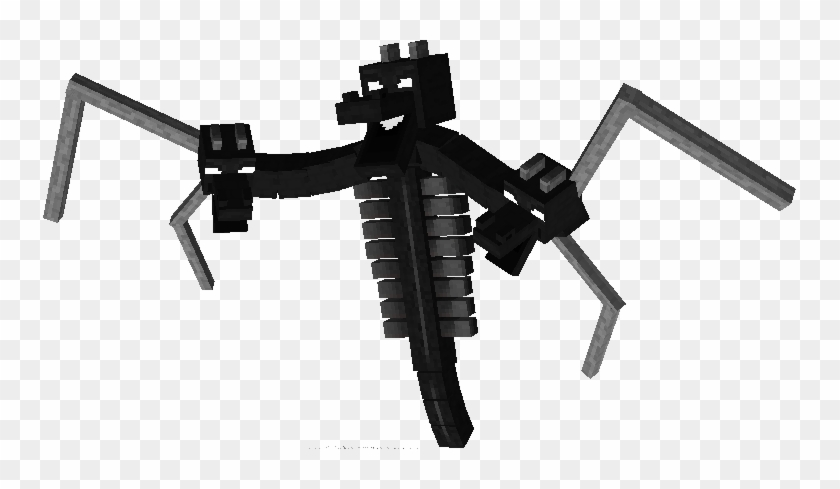 The Wither Dragon Minecraft Ender Dragon Wither Hd Png Download 753x409 3501956 Pngfind