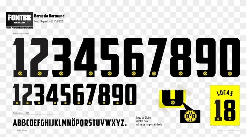 Borussia Dortmund Font 2014 Borussia Dortmund Hd Png Download 1600x819 3513526 Pngfind