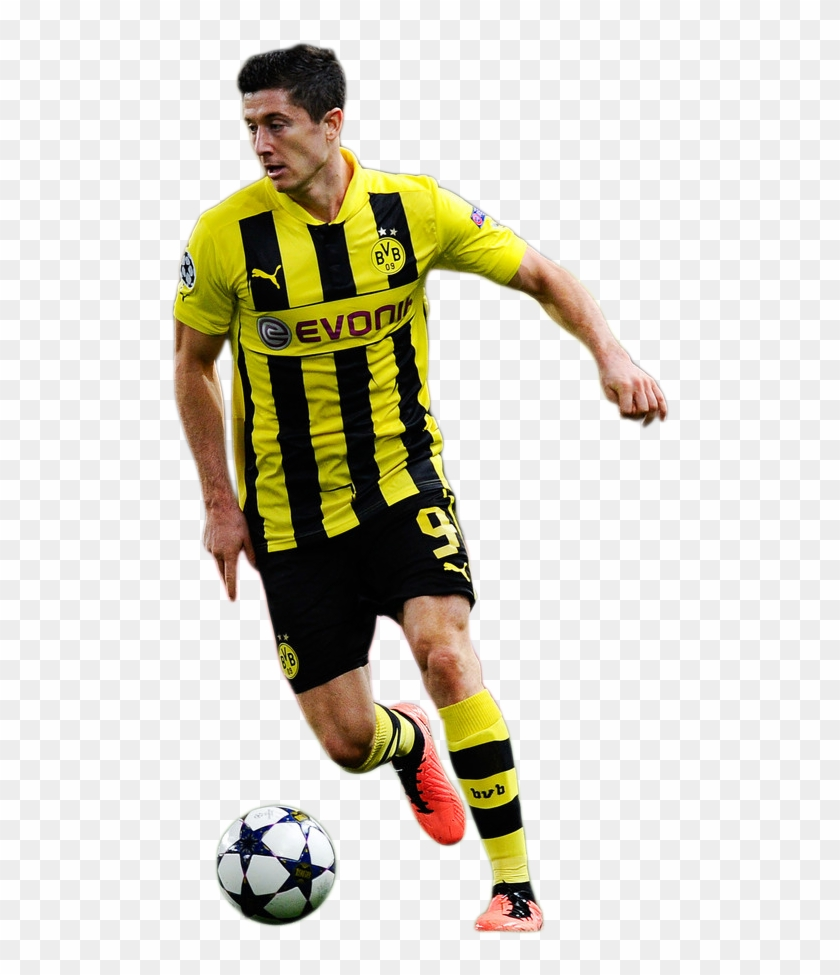 wholesale dealer 01d42 0c706 Lewandowski Borussia Dortmund Png , Png Download - Kick Up A ...