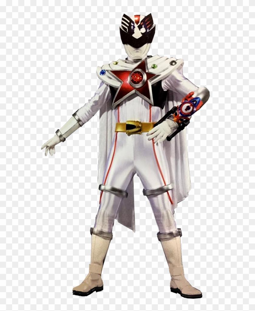 Super Sentai Series - Uchuu Sentai Kyuranger Shishi Red