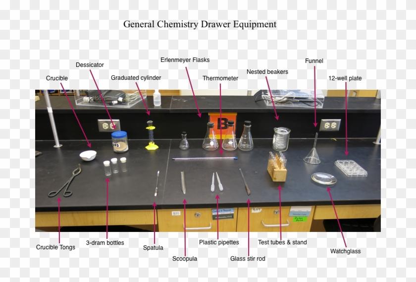 General Chemistry Lab Drawer Equipment - Chemistry Lab