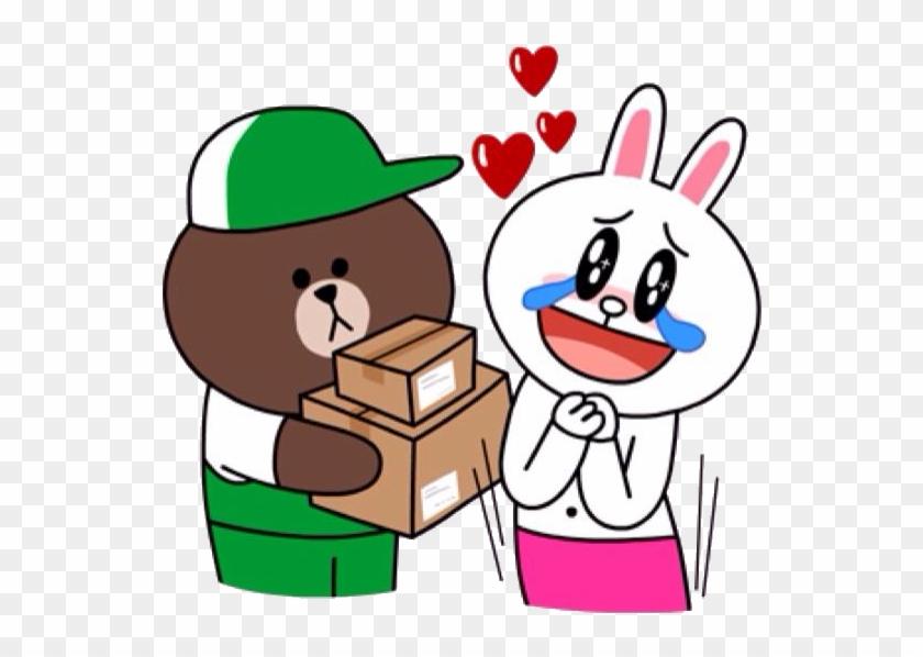 Cony Brown, Kakao Friends, Line Friends, Line Sticker