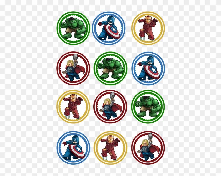 This is an image of Batman Cupcake Toppers Printable regarding spiderman