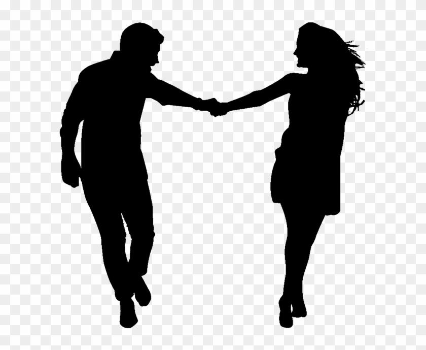 Silhouette Couple Love Romance Romantic People Silhouette Couple Holding Hands Love Hd Png Download 960x640 3550503 Pngfind