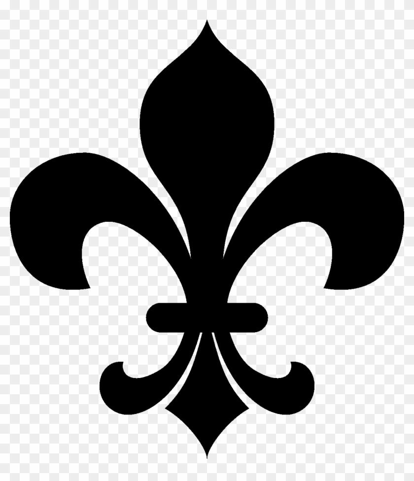 No Clipart Fleur De Lis Clipart Black And White Hd Png Download 1160x1293 3558101 Pngfind