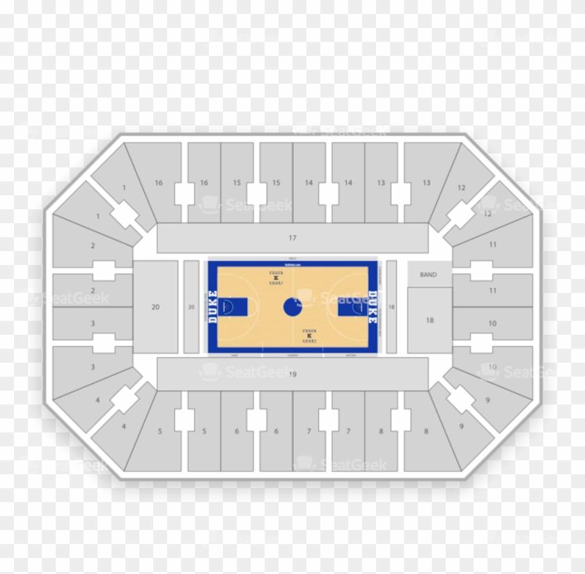 Duke Blue Devils Basketball Seating Chart Cameron Indoor Seating
