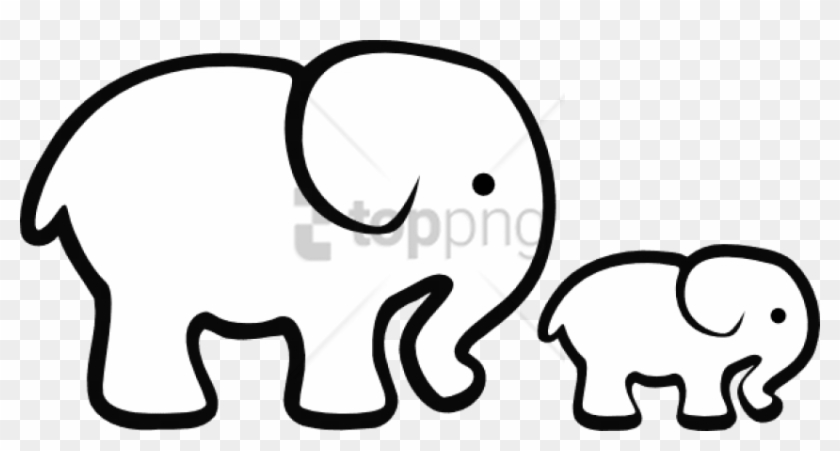 Free Png Elephant Png Image With Transparent Background Black And White Elephant Clipart Png Download 850x416 3584764 Pngfind Three species are recognised, the african bush elephant (loxodonta africana). free png elephant png image with